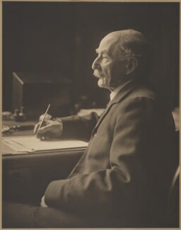 Thomas Hardy, by Olive Edis - NPG x137570