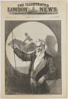Eadweard James Muybridge, by Richard Taylor, after  Thomas Walter Wilson - NPG D42855