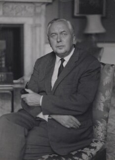 Harold Wilson, by Ruskin Spear - NPG x137579