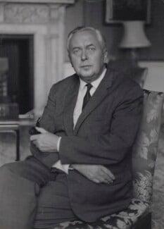 Harold Wilson, by Ruskin Spear, 1966 - NPG  - © estate of Ruskin Spear / Bridgeman Art Library www.bridgemanart.com