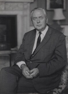 Harold Wilson, by Ruskin Spear - NPG x137581