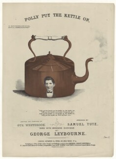 George Leybourne, published by Hopwood & Crew, printed by  Stannard & Son, after  Unknown artist - NPG D42772