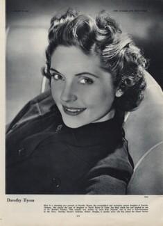 Dorothy Hyson, by Roye (Horace Roye-Narbeth) - NPG x137587