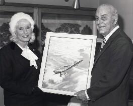 Jean Gardner Batten; Edgar Wikner Percival, by Universal Pictorial Press and Agency Ltd - NPG x184191