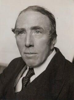 George Belcher, by Press Portrait Bureau - NPG x184204