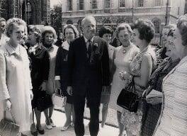 Sir Edward Heath with women MPs, including Margaret Thatcher, Baroness Thatcher of Kesteven, by Keystone Press Agency Ltd - NPG x137601