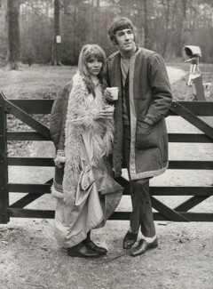 Judy Huxtable; Peter Cook, by Keystone Press Agency Ltd - NPG x137603