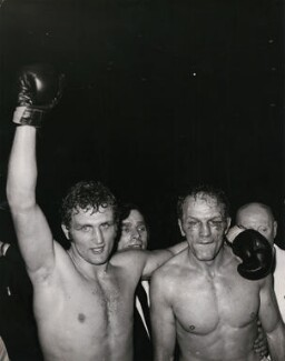 Joe Bugner; Henry Cooper, by Keystone Press Agency Ltd - NPG x137620