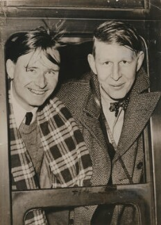 Christopher Isherwood; W.H. Auden, by Keystone Press Agency Ltd - NPG x137621