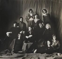 'Fashion Designers' (clockwise, from left: John Gates; Bill Gibb; Dame Mary Quant; Dame Zandra Rhodes; Ossie Clark; Gina Fratini; Thea Porter; Alice Pollock; Tim Gardner; Jean Muir), by Lord Snowdon - NPG P1937