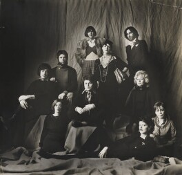'Fashion Designers' (includes Bill Gibb; Zandra Rhodes; Dame Mary Quant; Thea Porter), by Lord Snowdon - NPG P1937