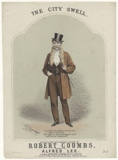 Robert Coombs, by Henry Calton Terrence Maguire, printed by  Stannard & Co, published by  Hopwood & Crew - NPG D42778