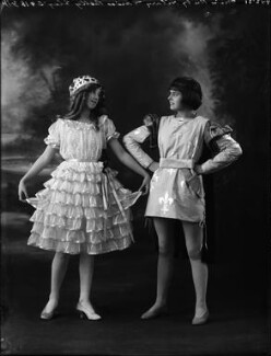 Betty Gley and Ruby Hilary in 'The Windmill Man', by Bassano Ltd - NPG x153978