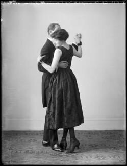 Maude Gibson; Clifford Gordon Vandyck, by Bassano Ltd - NPG x153984