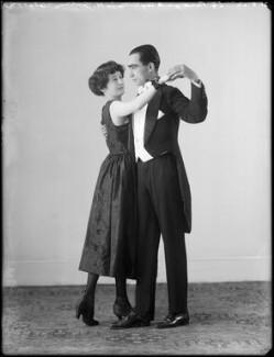 Maude Gibson; Clifford Gordon Vandyck, by Bassano Ltd - NPG x153987