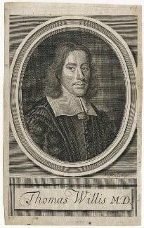 Thomas Willis, by Robert White, after  David Loggan - NPG D42859