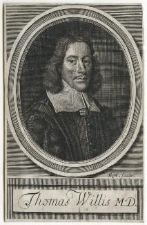 Thomas Willis, by Robert White, after  David Loggan - NPG D42860
