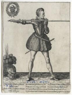 Henry, Prince of Wales, by Magdalena de Passe, and by  Willem de Passe, after  Simon de Passe - NPG D42862