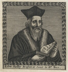 Sir Edward Kelley, after Francis Cleyn (Franz Klein) - NPG D42864