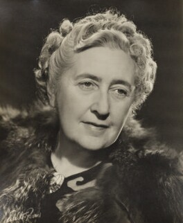 Agatha Christie, by Walter Bird - NPG x183962