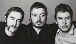 Craigie Horsfield; John Goto; Andrzej Klimowski, by Kevin Lear - NPG x137657