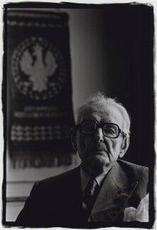 Edward Bernard Raczynski, by Herb Schmitz - NPG x137660