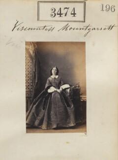 Frances Penelope (née Rawson), Viscountess Mountgarret, by Camille Silvy - NPG Ax52870