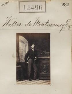 Waller de Montmorency, by Camille Silvy - NPG Ax63129