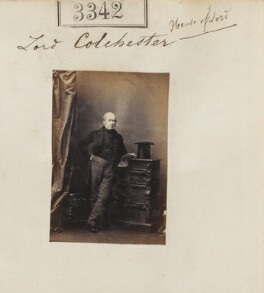 Charles Abbot, 2nd Baron Colchester, by Camille Silvy - NPG Ax52739