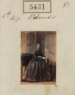 Hon. Louisa Jane Newenham (née Edwardes), by Camille Silvy - NPG Ax55391