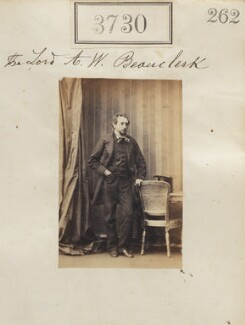 Lord Amelius Wentworth Beauclerk, by Camille Silvy - NPG Ax53126