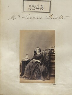 Frances Elizabeth Anne (née Braham), Countess Waldegrave, by Camille Silvy - NPG Ax55246