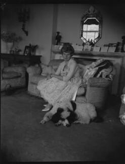 Patricia (née Macpherson), Lady Lowson, by Paul Laib - NPG x39398