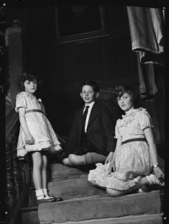 The children of 1st Baron Killearn, by Navana Vandyk - NPG x98789
