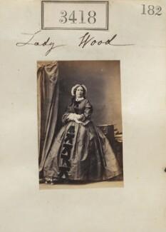 Mary (née Grey), Viscountess Halifax, by Camille Silvy - NPG Ax52815