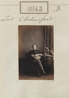 Frederick Thesiger, 1st Baron Chelmsford, by Camille Silvy - NPG Ax53234