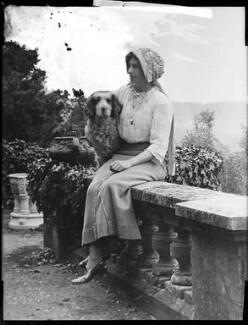 Olave St Clair Baden-Powell (née Soames), Lady Baden-Powell, by H. Walter Barnett - NPG x158885