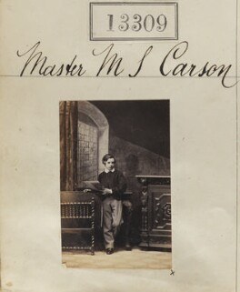 Marriott Simpson Carson, by Camille Silvy - NPG Ax62942