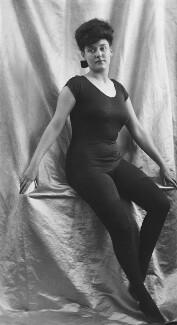 Annette Marie Sarah Kellerman, by H. Walter Barnett - NPG x158888