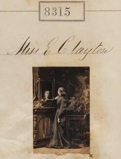 Elizabeth Allgood (née Clayton), by Camille Silvy - NPG Ax58134