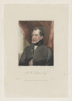 Robert William Elliston, by Charles Picart, published by  George Lawford, after  Abraham Wivell - NPG D42867