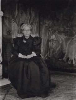 Jane Morris (née Burden), by Sir Emery Walker - NPG x137703