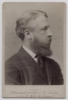 Spencer Compton Cavendish, 8th Duke of Devonshire, by Herbert Rose Barraud - NPG x137704