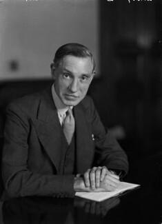 Sir John Monro Troutbeck, by Walter Stoneman - NPG x189024