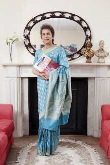 Dame Parveen June Kumar, by Nancy Honey, 11 July 2012 - NPG x137710 - © Nancy Honey
