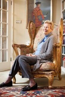 Dame Gillian (née Graham), Lady Wagner, by Nancy Honey - NPG x137714