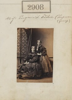 Eugenia Susannah St Aubyn (née Chapman); Adeline Mary Chapman (née Chapman), by Camille Silvy - NPG Ax52297