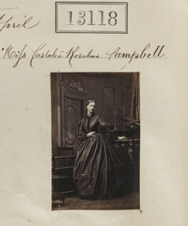 Castalia Rosalind (née Campbell), Countess of Granville, by Camille Silvy - NPG Ax62759
