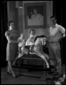 Paul Munro Gunn and family, by Paul Laib - NPG x137742