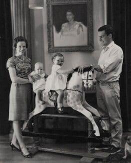 Paul Munro Gunn and family, by Paul Laib - NPG x137745